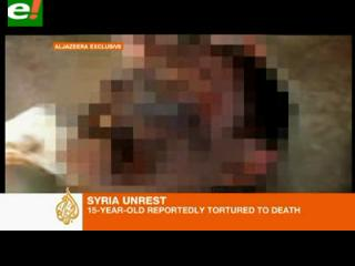 Muestran a otro adolescente sirio torturado y asesinado