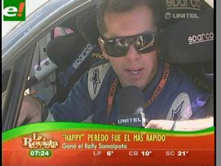 Peredo ganó el Rally de Samaipata