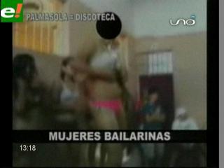 Video revela excentricidades y lujos en Palmasola