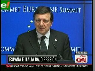 España e Italia sufren pese al intento del BCE de calmar a los mercados