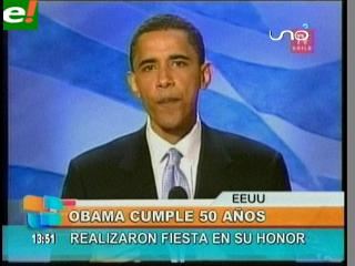 Barack Obama cumple 50 años