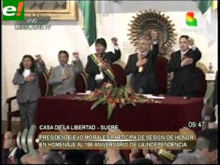 Felicidades patria querida: Bolivia cumple 186 años de vida independiente