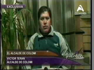 """Alcalde de Colomi: """"No ganó el MAS, ganó Víctor Terán"""""""