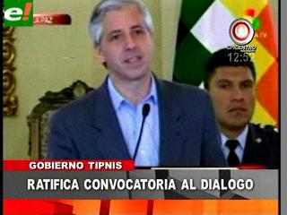 García Linera insiste en dialogar con indígenas