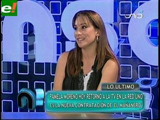 Pamela Moreno vuelve a la Red Uno