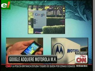 Google compra Motorola por 12.500 millones de dólares