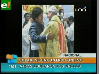 La Virgen de Urkupiña unió a Tito y a Evo
