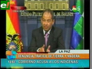 Romero acusa a dirigentes indígenas de traficar tierras y recursos naturales