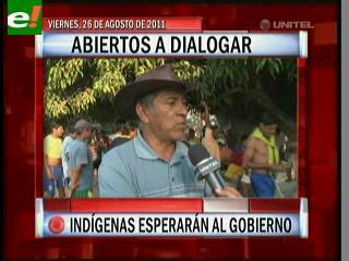 Indígenas esperarán al Gobierno