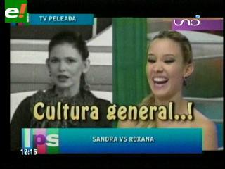 """Sandra Parada """"versus"""" Roxana del Río"""