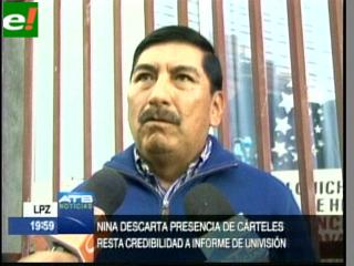 El ex comandante Óscar Nina niega vínculos con cárteles de droga