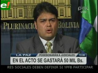 Posesión de magistrados sin respaldo internacional. Fernández, Humala y Correa rechazan invitación