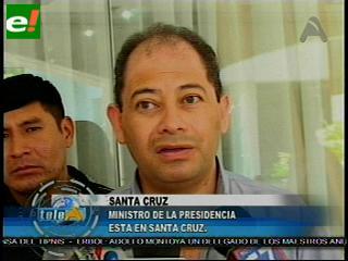 Romero asegura que el pedido de Yapacaní es inviable