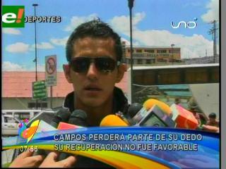 Campos no jugará los amistosos y es duda para la Copa