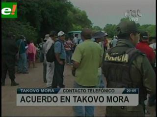 Guaraníes de Takovo Mora suspenden toma de predios de YPFB-Andina