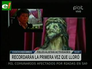 El Cristo de San Pedro vuelve a llorar sangre