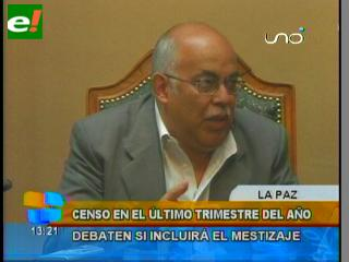"""Debaten el término """"mestizo"""" en la boleta censal de Población y Vivienda"""