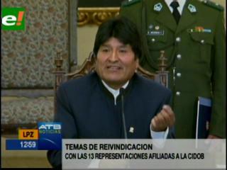Morales: La marcha del TIPNIS es rehén del MSM y la derecha