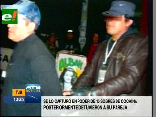 """Felcn captura al """"capo"""" del microtráfico de drogas en Tarija"""