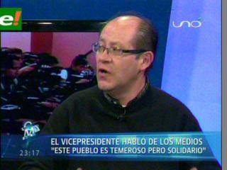 """Rechazan declaraciones del Vice sobre el Tipnis, """"No tienen la capacidad de enfrentar lo que engendraron"""""""