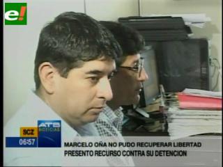 Corrupción en YPFB. Niegan acción de libertad a Marcelo Oña