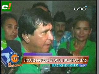 """Lenz: """"Invitamos a Nuni y Algarañas a ser parte del desarrollo de Beni"""""""
