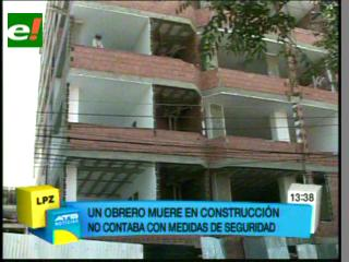 Obrero muere tras caer del sexto piso de un edificio en construcción en Miraflores