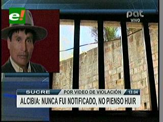 Caso violación en Chuquisaca. Asambleísta Alcibia dice que no piensa huir