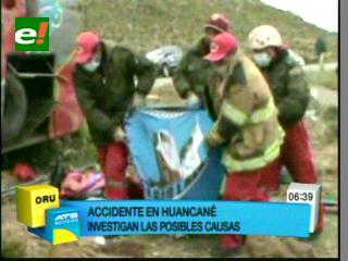 Un vuelco deja 20 muertos en Oruro