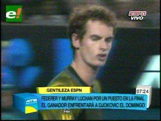 Murray vence a Federer y alcanza la final contra Djokovic