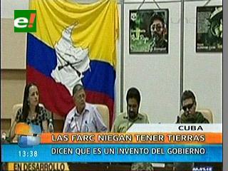 FARC veta a Noticias Caracol por preguntar sobre tierras despojadas