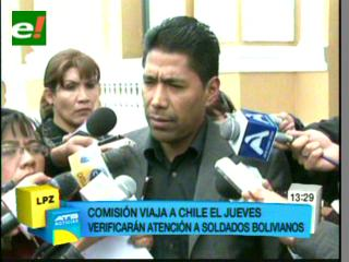 Comisión de Diputados desconoce si podrá ver a los tres soldados en Chile