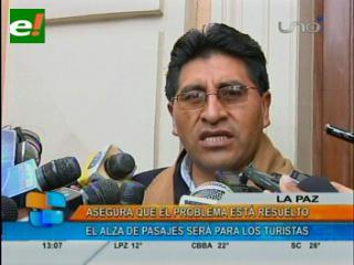 Gobernador califica de injustificado bloqueo hacia Copacabana