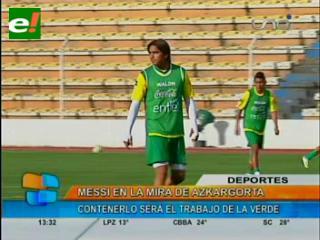 Bolivia, único sudamericano al que Messi no le marcó