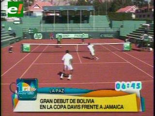 Bolivia arrasa a Jamaica en el día 1