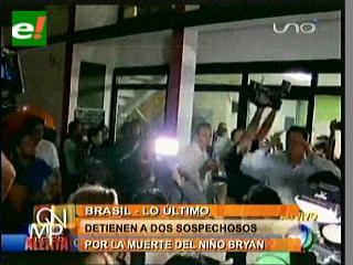 Dos detenidos en Brasil por muerte de un niño boliviano
