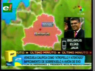 """Venezuela deplora """"atentado"""" contra la vida de Evo Morales por no dejarlo aterrizar en Francia"""