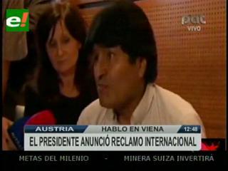"""Morales sobre incidente con países europeos: """"Es una ofensa a toda Latinoamérica"""""""
