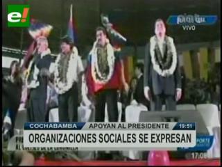 Presidentes de la región arropan a Evo Morales en Cochabamba