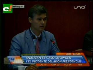 OEA: Italia niega haber bloqueado a Evo, exige disculpas