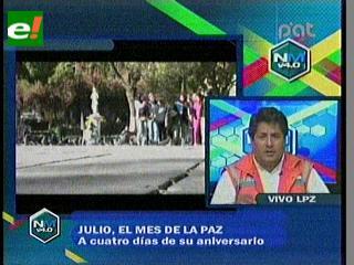 Édgar Patana: El Alto es mejor que hace cinco años