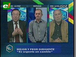 ¿Quién es el mejor y peor dirigente de fútbol en Bolivia?
