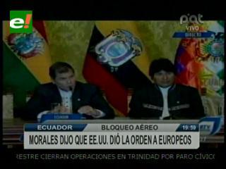 Gobierno analizará disculpas europeas y deja en manos de Unasur decisión de zanjar el impasse