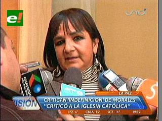 Gonzales: Viaje de Evo a Brasil para ver al Papa es sinónimo de hipocresía y falsedad