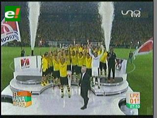 Borussia campeón de la Supercopa