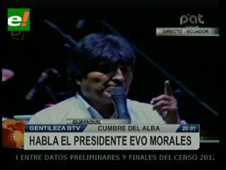 Morales recuerda con emoción a Hugo Chávez