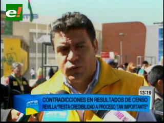 Revilla y Cocarico celebran resultados del Censo 2012