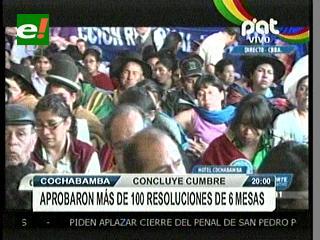 Plenaria de Cumbre Antiimperialista culmina con la aprobación de más de 100 resoluciones
