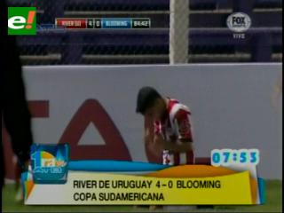 Blooming se va goleado de la Copa