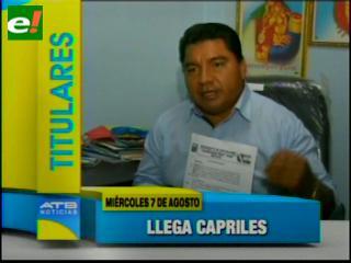 Titulares: Masistas se concentran en Viru Viru para protestar la llegada de Capriles